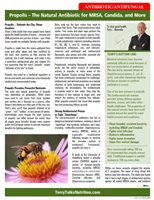 Terry Talks Nutrion article on propolis