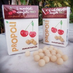 Organic Propolis, Black Cherry Soft Candies