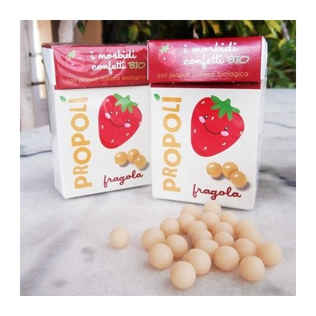 Organic Propolis, Strawberry Soft Candies