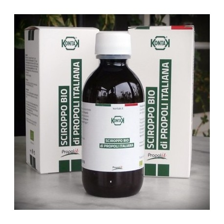 Organic Propolis, Herbal Cough Syrup