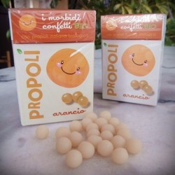 Organic Propolis, Orange Soft Candies