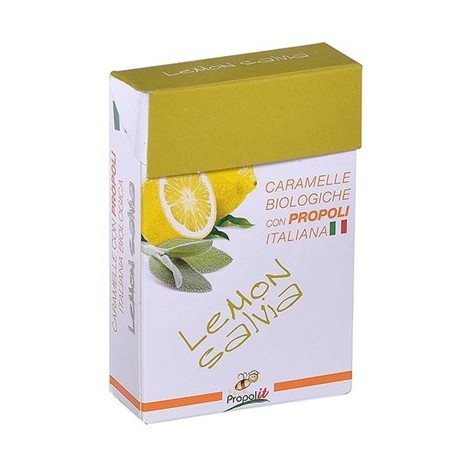 Organic Honey Lemon Sage Lozenges