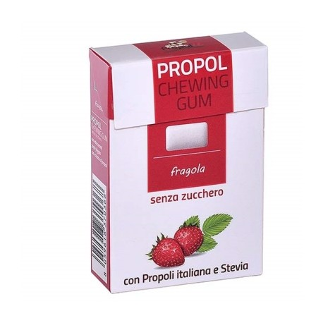 Propolis Strawberry Chewing Gum