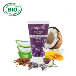 Organic Aloe Honey Propolis Foot Cream