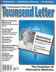 Townsend Letter June 2014